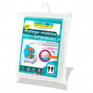 Protège-Matelas Coolplus® Imperméable Grands Bonnets