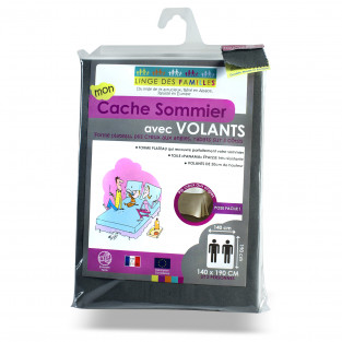 Cache-Sommier Anthracite