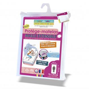 Protège-matelas Maille Extensible Grand Bonnet