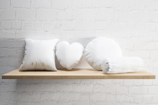 Formes d'oreillers - Linge des Familles