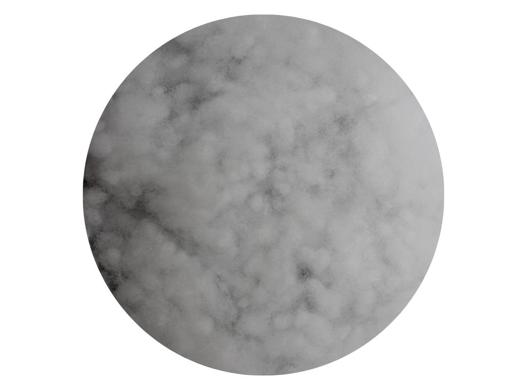 Flocons de fibres polyester - Garnissage oreiller - Linge des Familles