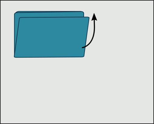 Plier son drap housse seul : Etape 6